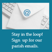 Icon email blue